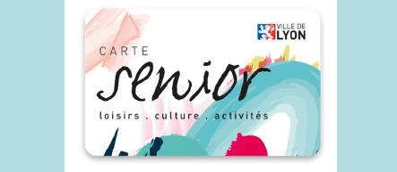 Une carte Tarif Senior à LYON, le pass culture, loisir et bien-être des seniors lyonnais